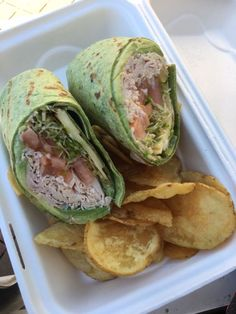 Photo of Surf City Sandwich - Soquel, CA, United States. Johnny Utah! (With spinach wrap)