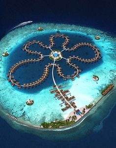 The Ocean Flower @ Maldives