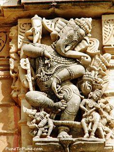 Dancing Ganesha of Shamlaji