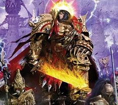 The immortal God-Emperor of all mankind!