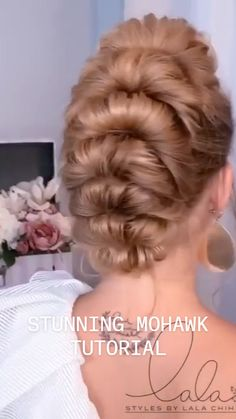 Pretty Hairstyles, Braided Hairstyles, Wedding Hairstyles, Hair Up Styles, Natural Hair Styles, Hair Affair, Great Hair, Hair Videos, Hair Hacks