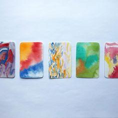 Pick a card. #color #creative #watercolor #art #artist Creative Diary, Watercolor Cards, Artist, Artists