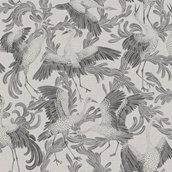 Dancing Crane tapet från Engblad & Co (fd Eco)® - fraktfritt online Crane, Neutral, Tapestry, Painting, Animals, Art, Wallpapers, Google, Pattern