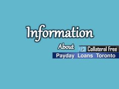 Payday Loans Toronto Canada - Timely Cash Backing For Unwanted Expenses by Jaun  Notter via slideshare