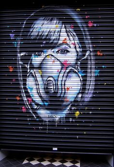 ˚ZABOU @LollipopGallery wall - Street Art