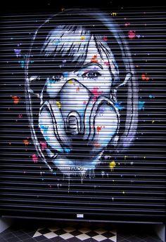 ˚ZABOU @LollipopGallery wall - Street Art