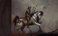 Fantasy Knight Horse wallpaper from Warriors wallpapers