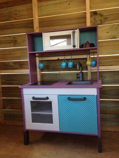 Ikea Duktig kids kitchen make-over