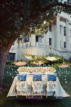 WEDDINGS - EVENTS: fairytale concept