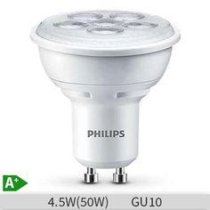 Unique Set becuri LED spot Philips W W GU ore