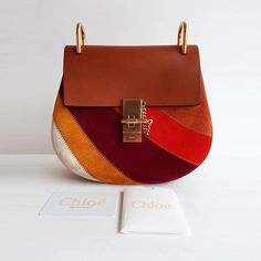 Chloé Drew Multicolored Patchwork Suede Cross-body Bag – Cris Consignment The Things They Carried, Chloe Bag, Discount Designer Clothes, Brown Suede, Luxury Consignment, Cross Body, Dust Bag, Crossbody Bag, Purses