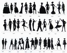 Fashion over the decades