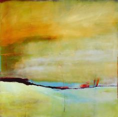 Abstract oil by Genie Maples