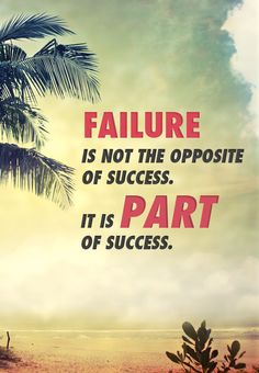 """Failure is not the opposite of success, it is part of success.""  #nevergiveup #quote #jesuschrist #christian #holyspirit"