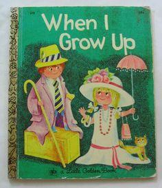 When I Grow Up, Little Golden Book