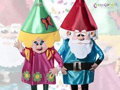 #Disfrazcreativo de #Gnomo para hombre y #mujer www.todocarnaval.com