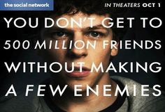 Saturday Night Movie: The Social Network @DelrayTechSpace October 17th at 7pm Tickets, Delray Beach | Eventbrite