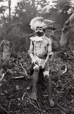 Tierra del Fuego in the far south of Chile and Argentina American Spirit, Native American, Chile, Australian Aboriginals, Melbourne Museum, Patagonia, Tribal People, Indigenous Art, Character Costumes