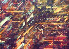 NEON CITIES by atelier olschinsky, via Behance