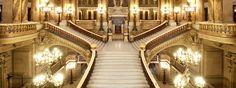 Jean-Louis-Charles Garnier {Architect} - Grand Staircase, Palais Garnier, Paris