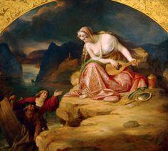 Carl Joseph Begas (1794 - 1854) - Die Loreley