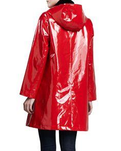 Princess Rain Slicker with Detachable Hood