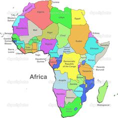 11 Best Countries Africa images