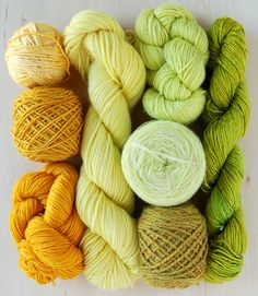 Yarn.fresh colors..