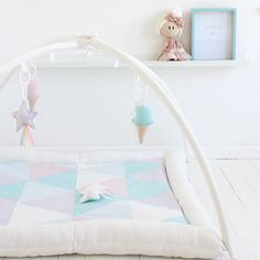 Modern and comfy activity mats for your bub to enjoy hours of floor time. Activity Mat, Baby Must Haves, Custom Quilts, White Paneling, Nursery Design, Baby Girl Gifts, Design Your Own, Bag Storage, Color Patterns