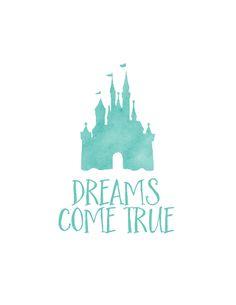 Free Disney World Autograph Print - Dreams Come True | Wit & Wander