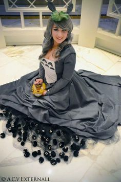 Cosplay meets fashion with the Totoro dress