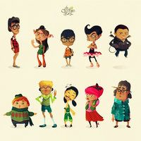 Characters 1-10 by ~pyrotensive on deviantART