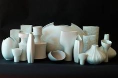 A Collection of 17 Rosenthal Vases