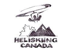 Heliskiing Canada Logo #Heliski #Heliskiing #heliboarding #skiing #snowboarding www.HeliskiingCanada.org