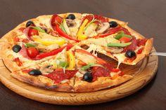 Pizza light para satisfacer el antojo :P