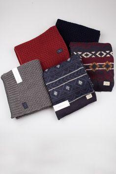 Cadeautjes voor hem // sjaals van Selected Homme