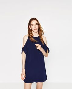 Image 2 of CREPE DRESS from Zara