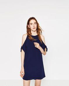 Imaxe 2 de VESTIDO CREP de Zara