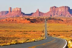 65. Drive through Monument Valley, USA