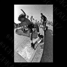 J.Hartsel Venice Skate Park 1986 - Photo: Chuck Katz