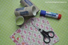 Smillas Wohngefühl: [DIY]: Serviettenringe für den schön gedeckten Tisch