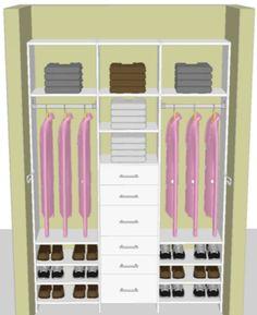 shared closet space