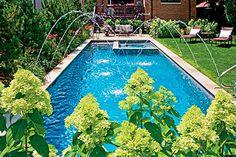 Chorro cristalino para fuentes de Jardín.