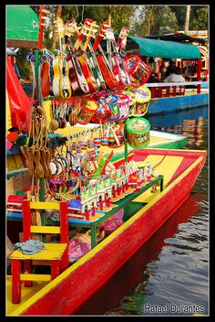 Juguetes en Xochimilco México  - I like the way they display! for more of Mexico, visit www.mainlymexican...