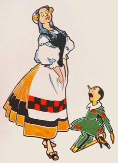 Attilio Mussino - Le Avventure di Pinoccio