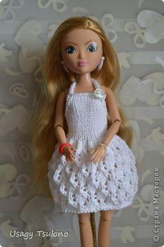 Кукольная жизнь Вязание Вязаное платье МК Пряжа фото 1