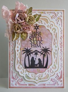 Introducing Samantha Walker's - O Holy Night | JustRite Papercraft Inspiration Blog