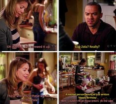 Grey's Anatomy - Yay Zola!!