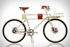 Faraday Porteur Bike ($3500) Merging the convenience of electric with the looks of a classic, manages to straddle the line between the two with grace. Thanks to lithium batteries that are cleverly hidden inside the frame, it looks like a traditional everyday rider, with only an on/off switch and an e-ink battery readout to belie its true nature — pedal, and it will automatically match your power, and when you're wanting to exert less effort, hit the boost button for a little extra help.