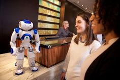 Hilton hotels is testing a robot that uses IBM Watson's machine learning to answer guests' questions and act as a concierge.